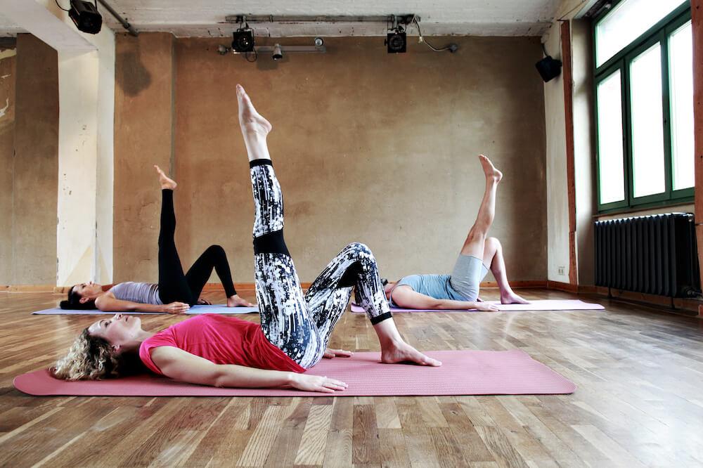 Juliette S Pilates - berlin - 1 leg circle